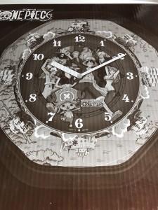 ワンピースカラクリ時計